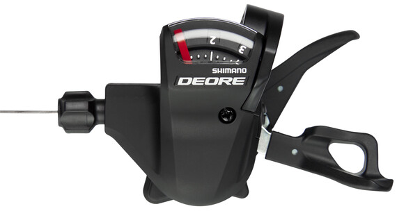 Shimano Deore SL-T610 schakelhendel 3-speed links